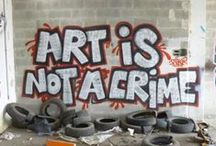 Zeal for Street Art / Everywhere's a canvas. / by Donna Hill