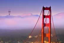 Golden Gate & Bay Bridge / by Maryann
