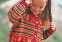 Childrens Knitting..
