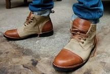 Mens Footwear / You can tell a lot about a man by the shoes that he wears.