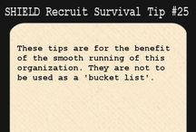 S.H.I.E.L.D. Recruit Survival Tip