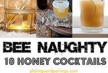 Cocktail & Honey / Retete de cocktailuri pe baza de miere.