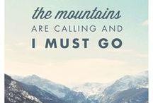{ mountain calling }