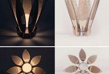 Laser cut lamps