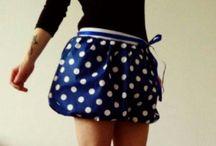 La Bella V. / Sewing,  skirt,  tutu,  cirkle skirt,  dresses,  polka dot,  50's,