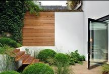 Contemporary Garden Inspiration / Contemporary garden design inspiration