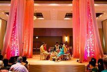 Just Weddings (404) 310-3959 / Creative Wedding Ideas using Lighting and Drapery