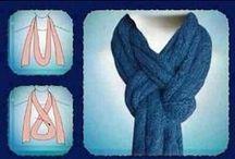 W - scarf