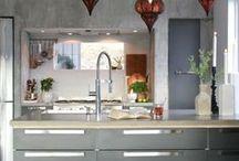 Concrete Kitchen // by Rust / Kitchen , Kitchen interior , Kitchen inspiration , Kitchen design , Kitchen ideas , kitchen decor , concrete , concrete countertops , kjøkken , kjøkken inspirasjon , kjøkken moderne , modern , design , Nordic home , scandinavian home , Nordisk hjem , modern