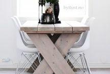 Spisebord fra www.byrust.no / Spisebord , heltre , by Rust ,  butikk , møbler , hytte , unikt