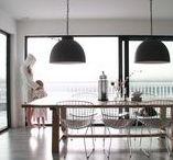 Dining room // by Rust / Skandinavisk interiør , møbler , by Rust , nordic living , interior , dekor , dining , kitchen , schüco