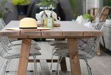 Patio / Patio, outdoor living , nordick living , skandinavisk interiør , decor , interior , by Rust