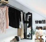 Walk-in // by Rust / walk in, dekor , clothes , garderobe , fashion , nordic , living , interior , diy , wardrobe , interiør , inspirasjon