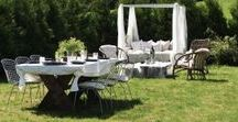 Outdoor living / outdoor ,  hage , interior , garden , inspiration , uteområde , hagefest , garden party , birthday , wedding