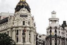 Madrid / Fotballtur til Madrid , Gran Via , Dear Hotel Madrid , Metropolis , Real Madrid , football