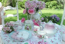 Afternoon Tea Time / Afternoon tea is a small meal snack typically eaten between 3pm and 5pm. The custom of afternoon tea originated in England in the 1840s.[ / by Judy Howard Christopoulos