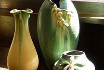 Art-American Art Pottery / Roseville, McCoy, Weller. Rookwood, Newcomb and Others / by Judy Howard Christopoulos