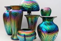 """Art  Glass / Art glass has been almost exclusively intended to decorate the home and was historically bought by those who could afford to commission individual work.  At its broadest level """"art glass"""" can most easily be defined in opposition to glass for utilitarian purposes where the usability is more important than artistic design:  / by Judy Howard Christopoulos"""
