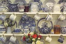Blue & White  / Love Blue & White, including Transferware, Flow Blue from England, Delftware from The Netherlands, old Chinese pottery and others. / by Judy Howard Christopoulos