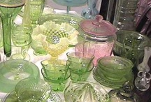 Depression Glass / by Judy Howard Christopoulos