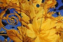 Prints - Baroque blue