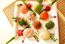 ♥..temari sushi..♥ / petit sushi♡ The Japanese version of savory cupcakes;)  Temari Sushi is a casual sushi you can make at home and is named after the children's toy ball♪
