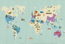 World / Places around the world  / by Burcu Çağla Yilmaz