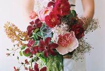 Cranberry/Burgundy Wedding Inspiration
