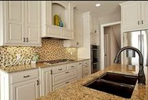 CUSTOM KITCHENS / Custom kitchen cabinetry designed to fit not only the size of your kitchen, but your unique individual style and built to accommodate your busy life!
