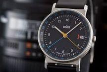 Braun AW Armbanduhren / Original Braun Watches/Made in Germany