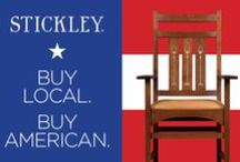 Made in America! / American-made furniture available to create the American dream