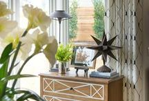 Finishing Touches / Bringing your room together with accents & art