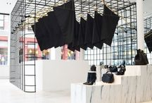 flagship stores & installations.