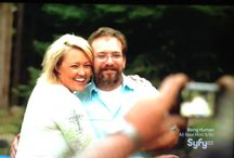 Ghost Mine TV Show / Larry and Stacie Overman the owners of the haunted gold mine.