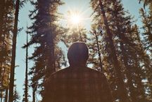 Where The Wild Things Are / Mountains, forests, lakes, backpacks and beards