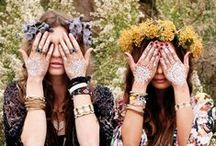 Boho - Gypsy - Country Inspirations / Here you are girls! For you some ideas about clothes, outfit, hair, mood etc..which can easly fit with our #bohemian #boots.