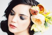 Hair flowers / Beautiful ways to adorn your wedding do. / by Bettie Rose Flowers