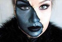 Halloween Make-Up / Get inspired with these Halloween Make-up tutorials created by MUD Make-up Artists.