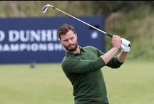 Alfred Dunhill Links Championship Tournament 2014/2015 & Practice Round on September 30th,2015 - Jamie Dornan / Alfred Dunhill Golf Tournament