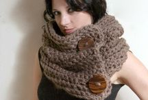 Knit Inspirations / Knit scarves for Fall/Winter inspiration