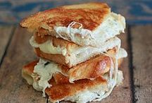 Say Cheez! / ultimate grilled cheese sandwiches / by Kristine Joseph