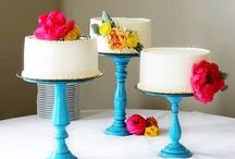 Wedding Cakes / Beautiful cakes to inspire you for your wedding day. Feast your eyes on these tasty treats! Yum :) / by Bettie Rose Flowers