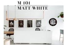 White & Matt