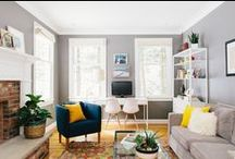 Living room / Functional, comfortable and inspiring Living Spaces