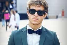 {For Him} / Men's Suits, Ties & Hairstyles.  {Tips for the guys}