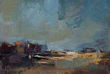 Ollie Le Brocq - Land & Sea / Original Landscape paintings by Ollie Le Brocq - www.ollielebrocq.com
