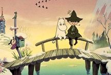 M O O M I N S / Crazy moomins! Aren't all families like this?