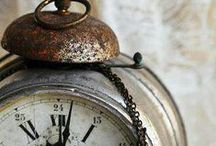 "Tic-Tac! / ""They took away time and they gave us the clock"". / by Júlia Guimarães"