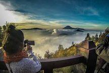 Indonesia - Volcano Mountains / #Indonesia #volcano