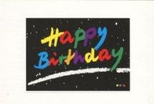 Modern Birthday Postcards